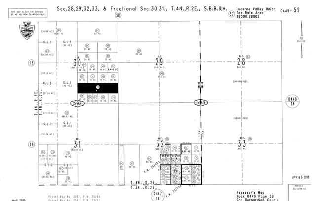 0 Donaldson, Johnson Valley, CA 92590 (#CV19118724) :: Millman Team