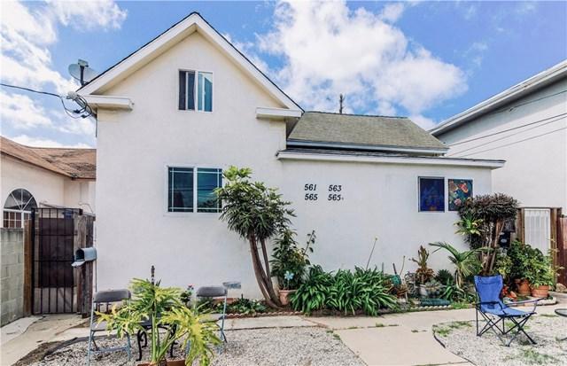 561 W 12th Street 561,563,565,565, San Pedro, CA 90731 (#OC19119863) :: Naylor Properties