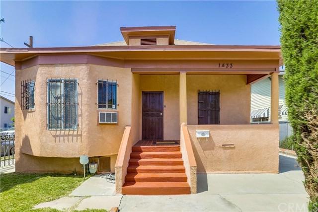 1433 W 20th Street, Los Angeles (City), CA 90007 (#DW19110105) :: RE/MAX Masters