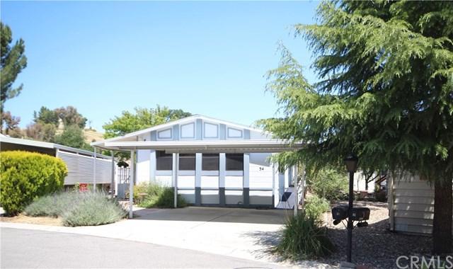 34 Via Santa Barbara #34, Paso Robles, CA 93446 (#NS19120230) :: RE/MAX Parkside Real Estate