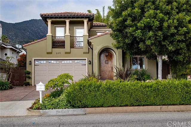 239 E Hillcrest Boulevard, Monrovia, CA 91016 (#IG19119296) :: Ardent Real Estate Group, Inc.
