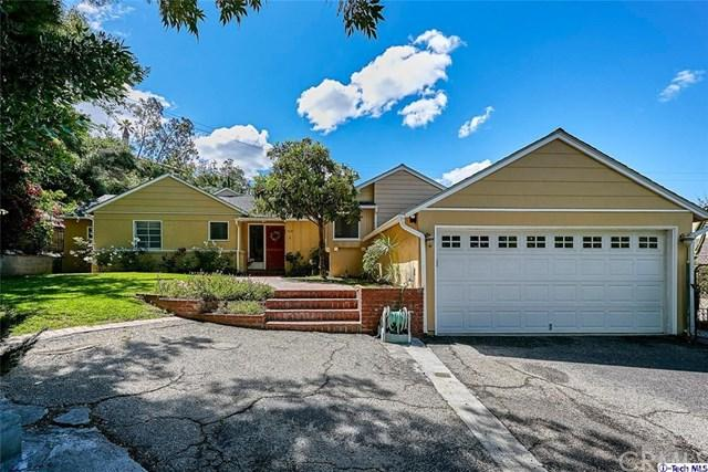 5034 Merita Place, La Canada Flintridge, CA 91011 (#319002050) :: Fred Sed Group