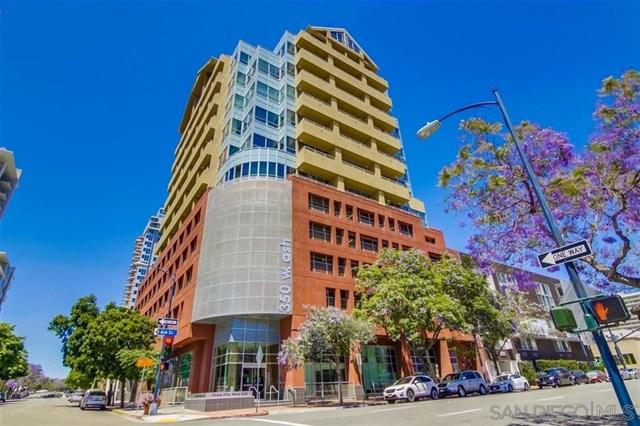 350 W W Ash St #1001, San Diego, CA 92101 (#190028404) :: Ardent Real Estate Group, Inc.