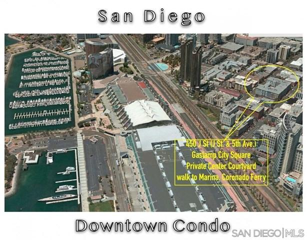 450 J St #6011, San Diego, CA 92101 (#190028534) :: Fred Sed Group