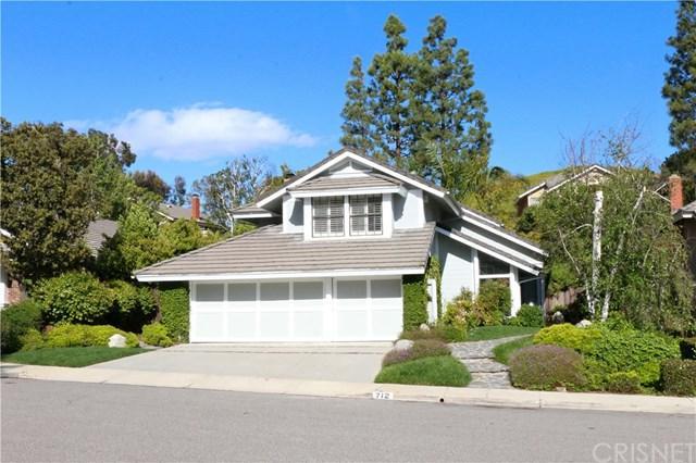 712 Clear Haven Drive, Oak Park, CA 91377 (#SR19112417) :: The Laffins Real Estate Team