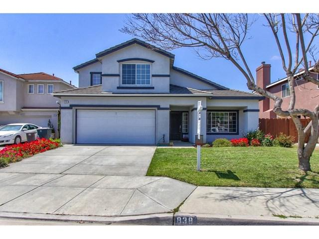 838 Chamise Drive, Salinas, CA 93905 (#ML81750774) :: The Laffins Real Estate Team