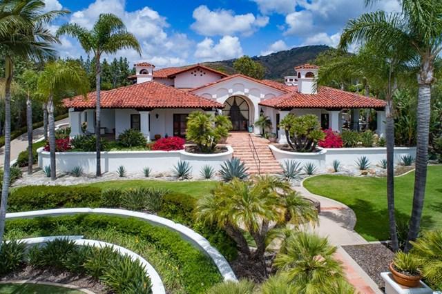 7152 Rancho La Cima Drive, Rancho Santa Fe, CA 92127 (#190028899) :: Berkshire Hathaway Home Services California Properties
