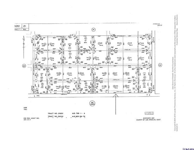 0 Ave D Vic 122 St W, Lancaster, CA 93536 (#319002123) :: Fred Sed Group