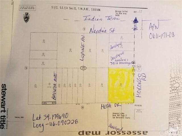 Morongo Road, 29 Palms, CA 92277 (#219015603DA) :: J1 Realty Group