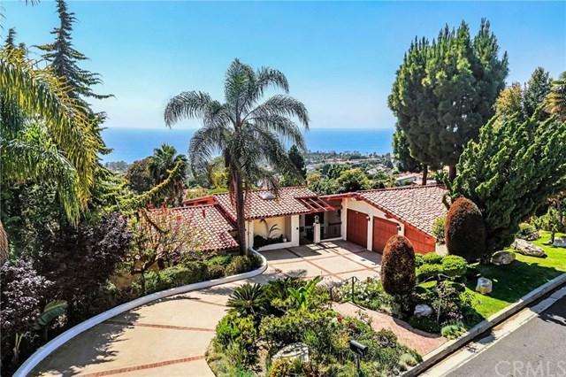 1349 Via Zumaya, Palos Verdes Estates, CA 90274 (#PV19129886) :: Millman Team