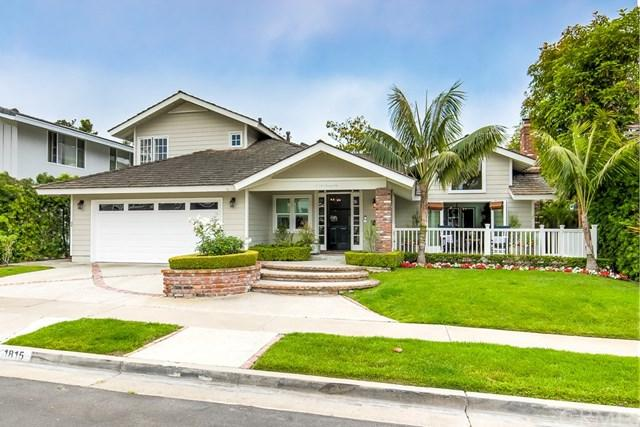 1815 Port Barmouth Place, Newport Beach, CA 92660 (#NP19131582) :: Fred Sed Group