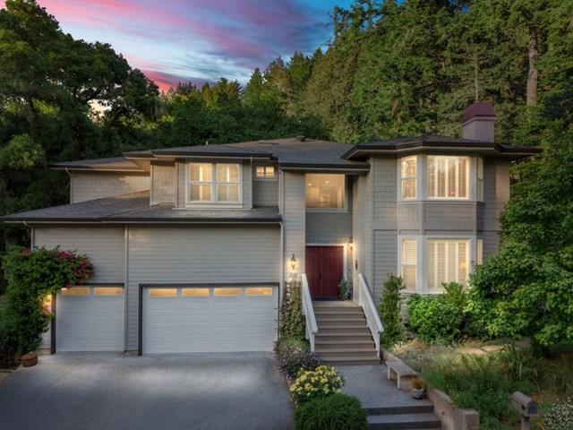 281 Hidden Glen Drive, Scotts Valley, CA 95066 (#ML81756042) :: Bob Kelly Team