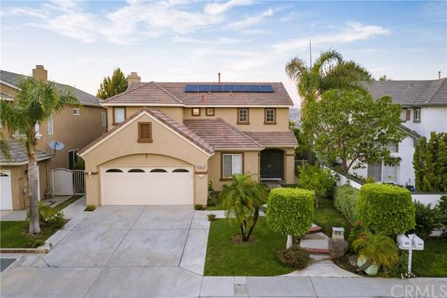 8735 E Cloudview Way, Anaheim Hills, CA 92808 (#OC19137418) :: Fred Sed Group