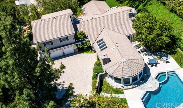 24907 Kit Carson Road, Hidden Hills, CA 91302 (#SR19138345) :: Fred Sed Group