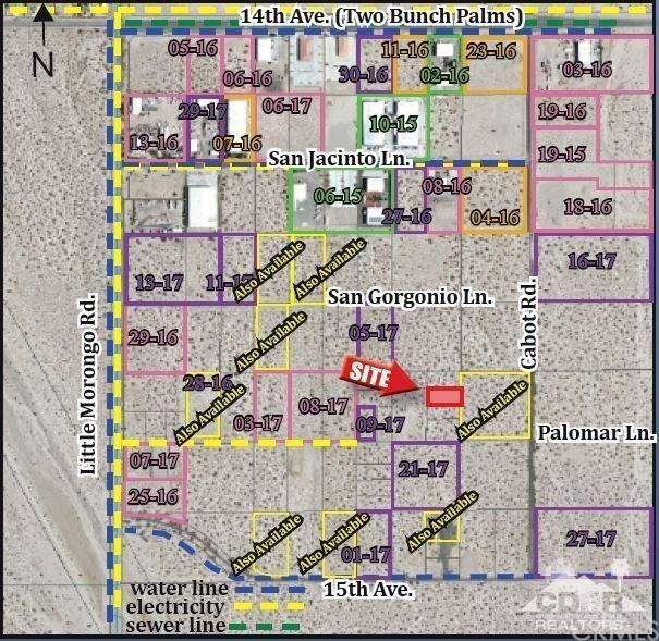 Palomar Lane, Desert Hot Springs, CA 92240 (#219016889DA) :: Fred Sed Group