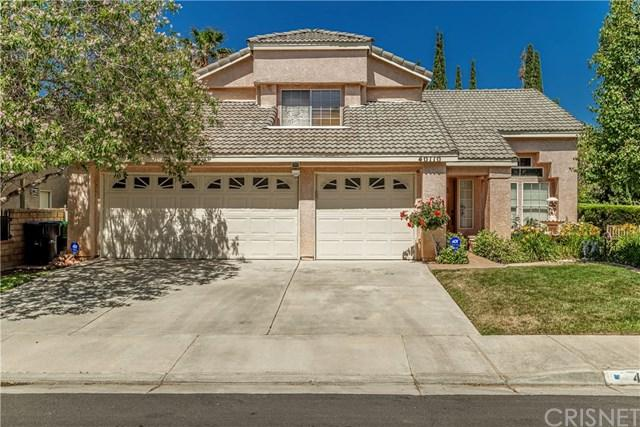 40110 Lloyds Court, Palmdale, CA 93551 (#SR19140814) :: The Miller Group