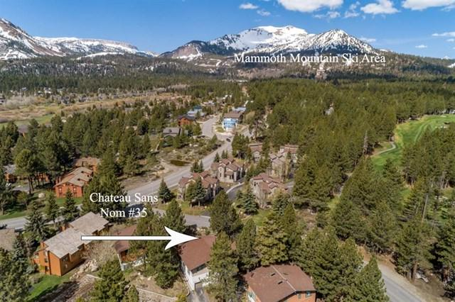 3463 Chateau Road #35 #35, Mammoth Lakes, CA 93546 (#190032983) :: Fred Sed Group