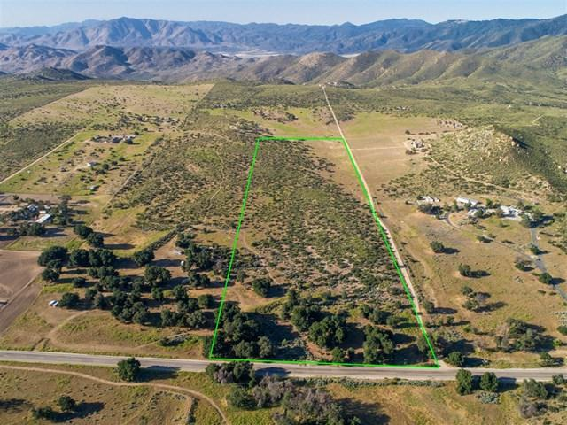 0 Montezuma Road, Ranchita, CA 92066 (#190033141) :: J1 Realty Group