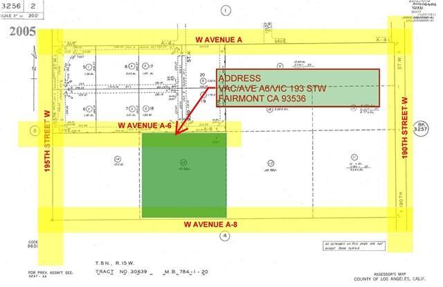 0-vac Vac/Ave A6/Vic 193 Stw, Fairmont, CA 93536 (#PW19141854) :: RE/MAX Empire Properties