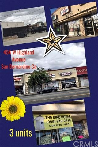 454 W Highland Avenue, San Bernardino, CA 92405 (#CV19142134) :: Fred Sed Group