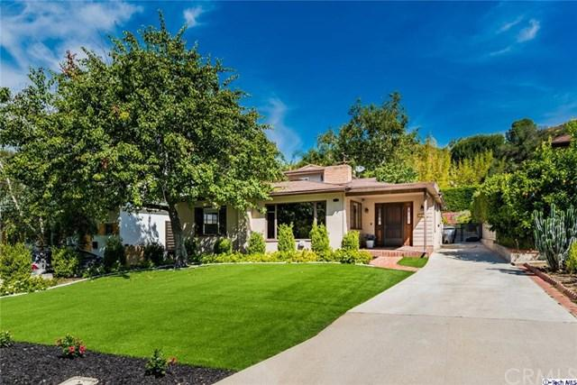2541 Hollister Terrace, Glendale, CA 91206 (#319002381) :: The Brad Korb Real Estate Group