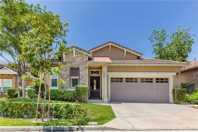 9145 Wooded Hill Drive, Corona, CA 92883 (#PW19141945) :: Fred Sed Group
