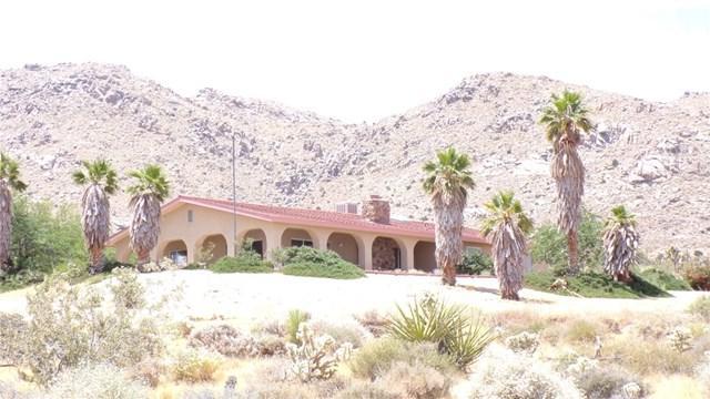 60707 Navajo, Joshua Tree, CA 92252 (#JT19142859) :: Steele Canyon Realty