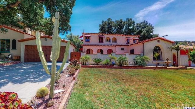 2520 Hollister Terrace, Glendale, CA 91206 (#319002263) :: The Parsons Team