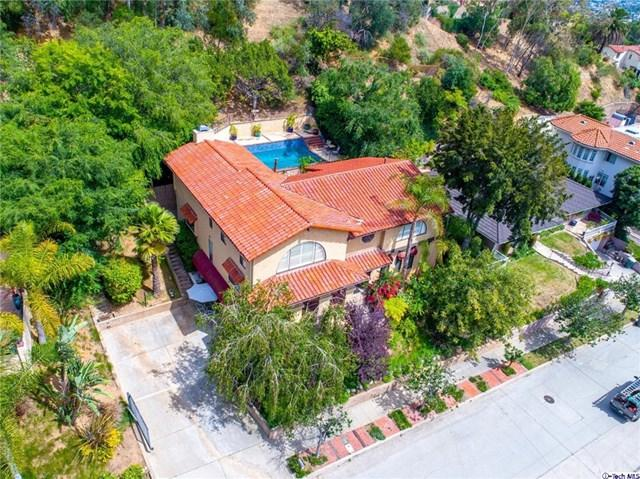 1748 Hillcrest Drive, Glendale, CA 91202 (#319002304) :: Fred Sed Group