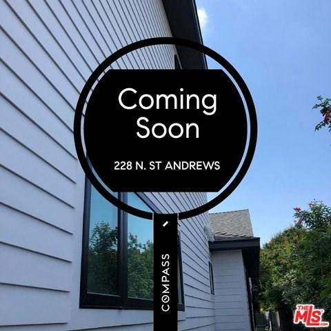 228 N St Andrews Place, Los Angeles (City), CA 90004 (#19471784) :: Fred Sed Group