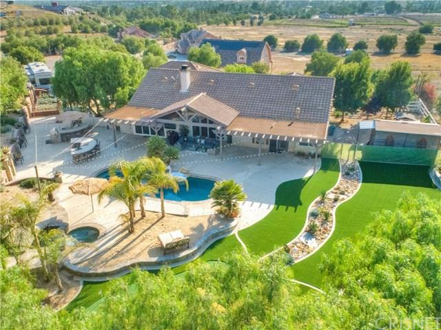 34714 Sweetwater Drive, Agua Dulce, CA 91390 (#SR19145885) :: Heller The Home Seller