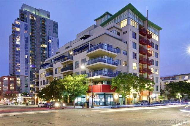 875 G St #802, San Diego, CA 92101 (#190034309) :: Fred Sed Group