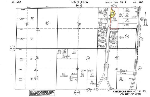 58-AC On Hwy. 14 And Sopp Road, Rosamond, CA 93560 (#SR19146972) :: Millman Team