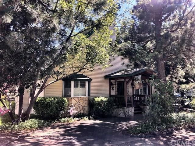 27521 St Bernard Lane, Lake Arrowhead, CA 92352 (#EV19147716) :: Fred Sed Group