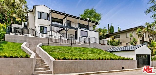 3410 N Knoll Drive, Los Angeles (City), CA 90068 (#19481442) :: Heller The Home Seller