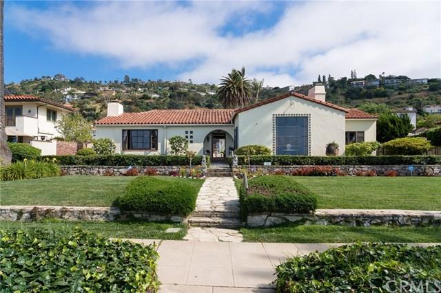 408 Paseo Del Mar, Palos Verdes Estates, CA 90274 (#PV19149248) :: Fred Sed Group