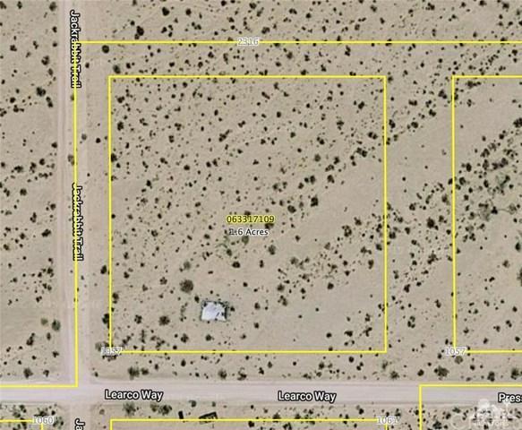 Presswood Road, 29 Palms, CA 92277 (#219017803DA) :: J1 Realty Group