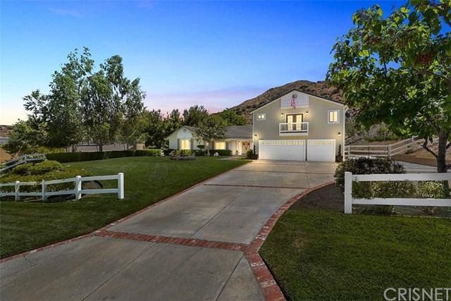 32220 Camino Canyon Road, Acton, CA 93510 (#SR19154147) :: Fred Sed Group