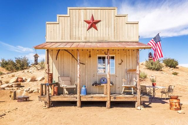 51960 Saddle Lane, Pioneertown, CA 92268 (#JT19155468) :: Fred Sed Group