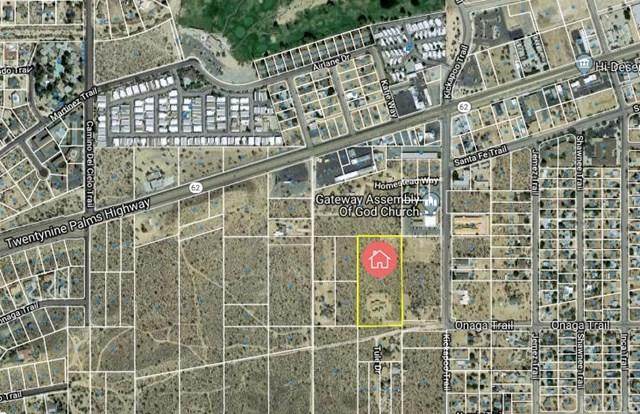 0 La Honda Way, Yucca Valley, CA  (#CV19156755) :: The Darryl and JJ Jones Team