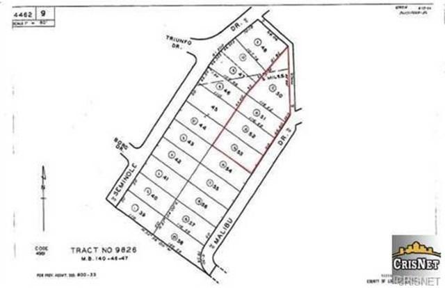 0 Malibu Drive, Agoura Hills, CA 91301 (#SR19158042) :: The Laffins Real Estate Team