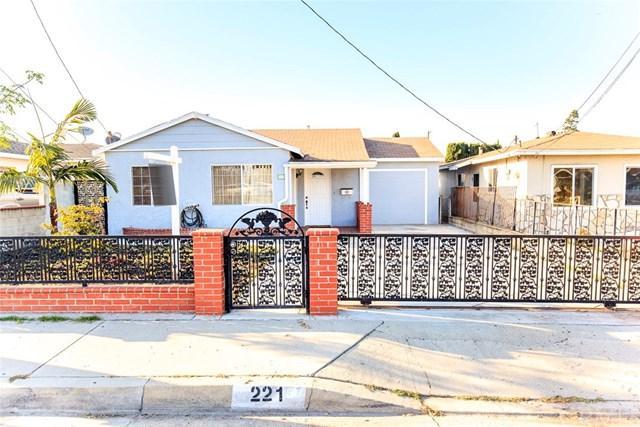 221 W 214th Street, Carson, CA 90745 (#SB19160197) :: Fred Sed Group