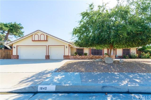 1640 E Beringer Drive, San Jacinto, CA 92583 (#SW19156380) :: Allison James Estates and Homes