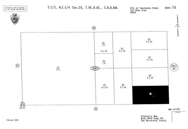 0 Samarkand, 29 Palms, CA  (#CV19162876) :: Sperry Residential Group