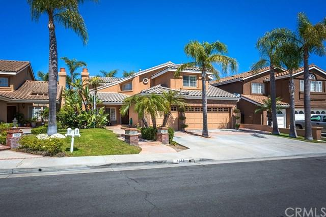1045 S Windy Ridge Court, Anaheim Hills, CA 92808 (#PW19156124) :: Fred Sed Group