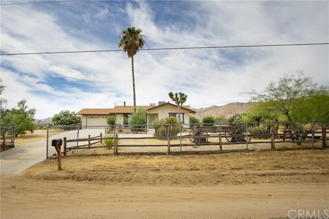 61611 Alta Loma Drive, Joshua Tree, CA 92252 (#EV19166234) :: Allison James Estates and Homes