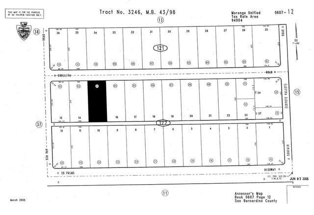 0 Chollita Road, Joshua Tree, CA 92252 (#CV19166340) :: The Laffins Real Estate Team