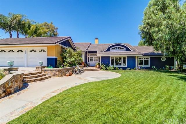 7300 E Stone Creek Lane, Anaheim Hills, CA 92808 (#OC19160782) :: Fred Sed Group