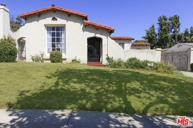 1242 S Curson Avenue, Los Angeles (City), CA 90019 (#19488164) :: RE/MAX Masters