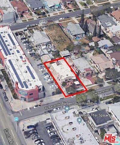 1115 N Berendo Street, Los Angeles (City), CA 90029 (#19488658) :: Fred Sed Group